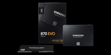 Samsung 870 Evo – nowe wydajne nośniki SSD w przystępnej cenie