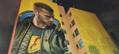 Cyberpunk 2077 - w Sao Paulo powstał mural promujący grę i... łamiący prawo. Twórcy zapłacą przez niego karę