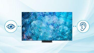 Nowe telewizory Samsunga ułatwią oglądanie telewizji osobom niesłyszącym i niedosłyszącym