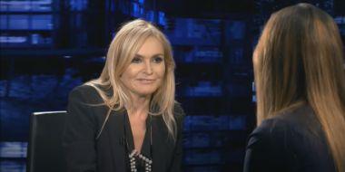 Monika Olejnik na zdjęciu… z królową Elżbietą. Tak zapowiada wywiad Harry'ego i Meghan w TVN24
