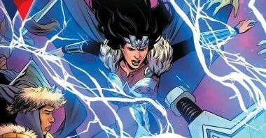Wonder Woman też podniesie Mjolnir. Nie po raz pierwszy