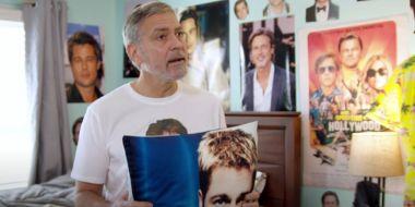 George Clooney jest psychofanem Brada Pitta. Genialne wideo
