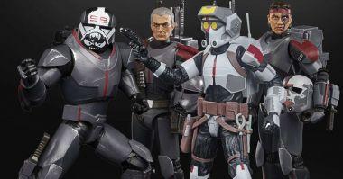 Star Wars: The Bad Batch - zdjęcia figurek z bohaterami animacji od Hasbro