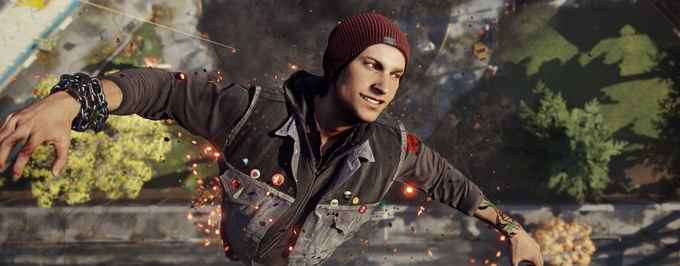 Hotty Fetch From Infamous Second Son Model Pics 1