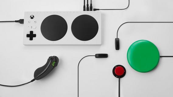 Kontroler Microsoftu dla graczy niepełnosprawnych ruchowo z wyjątkowym opakowaniem
