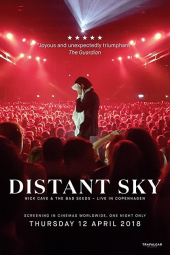 Distant Sky - Nick Cave and The Bad Seeds - komcert z Kopenhagi