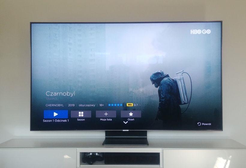 Czarnobyl na ekranie Samsunga QLED Q90