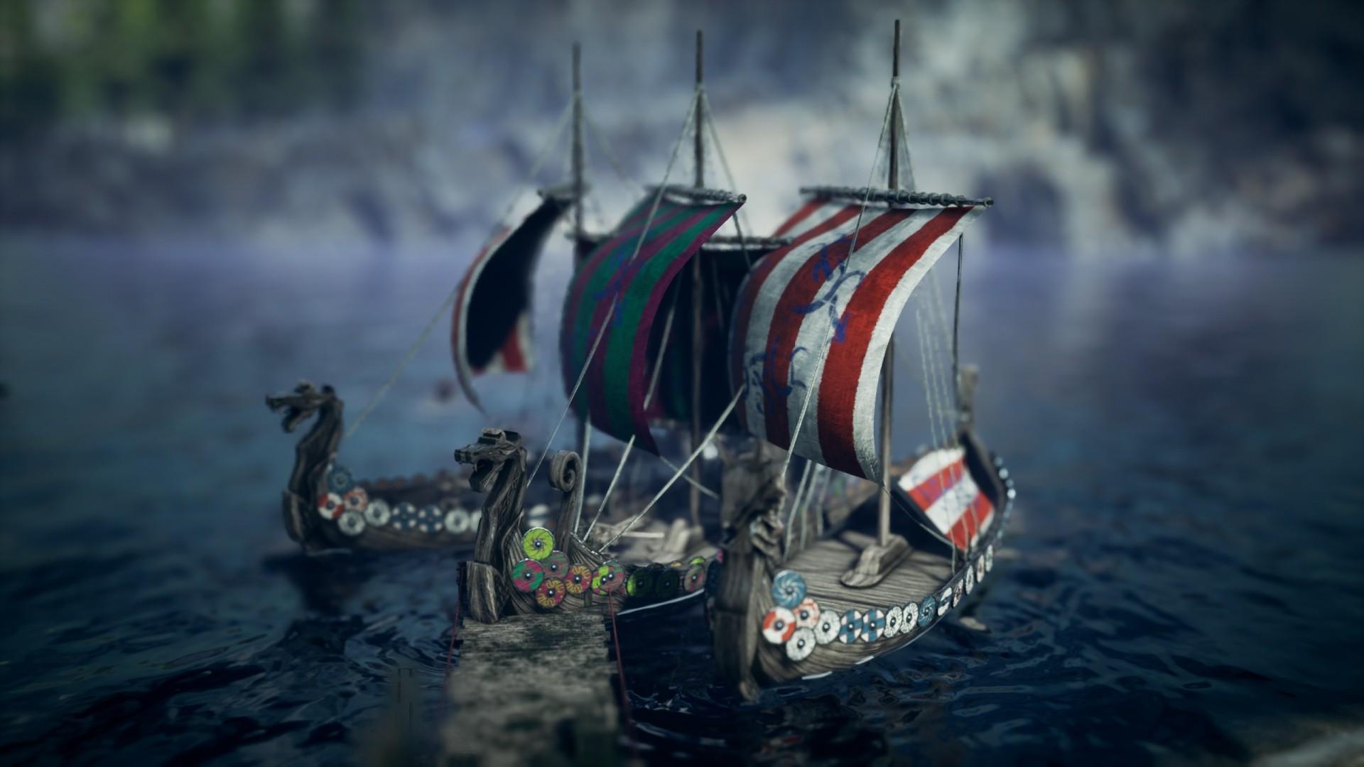 Frozenheim - wrażenia z gry. Wikingowie, budowa osady i łupieżcze rajdy