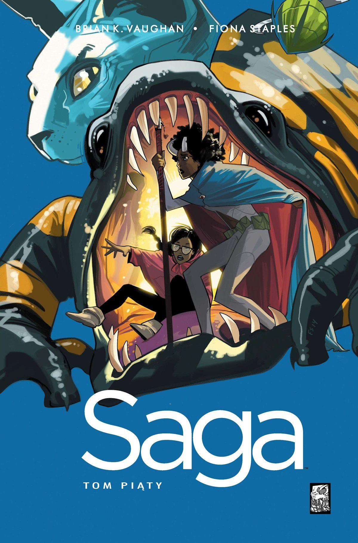 saga 5 - okładka