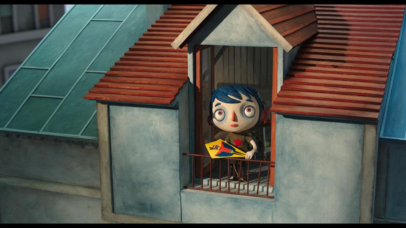 Kadr z animacji Nazywam się Cukinia