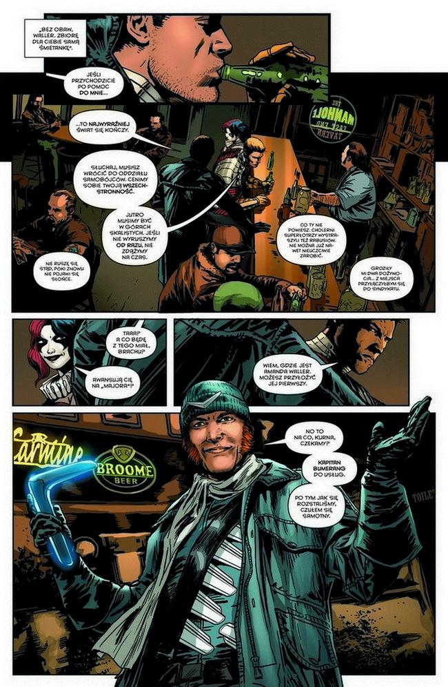 Suicide Squad #02. Zderzenie ze ścianą -plansza 1