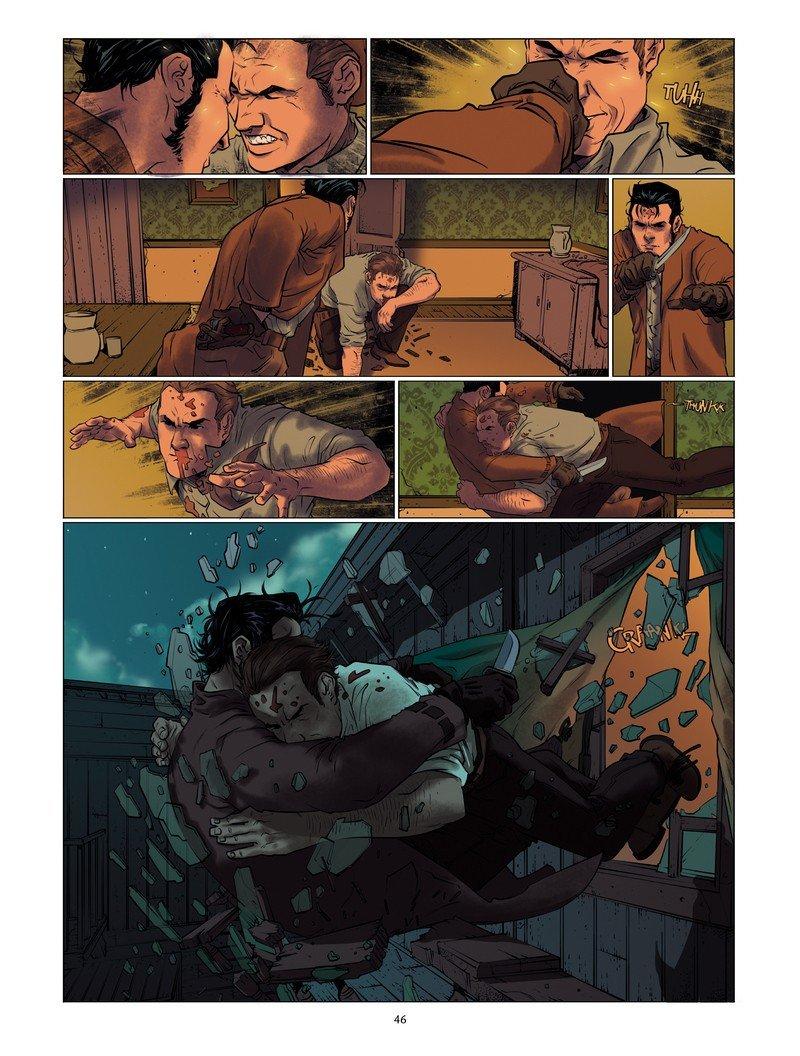 Wounded #01. Skradzione lata - plansza 3