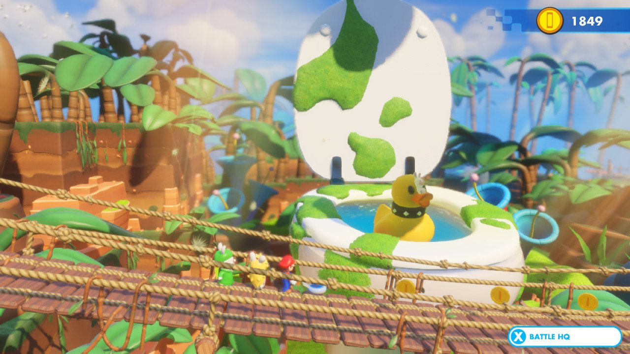 Mario + Rabbids: Kingdom Battle - screeny z gry