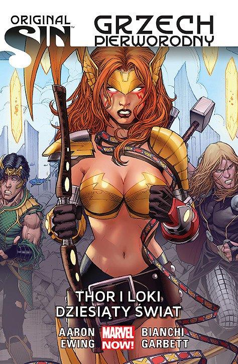 Original Sin - Grzech pierworodny. Thor i Loki - Dziesiąty świat - okładka