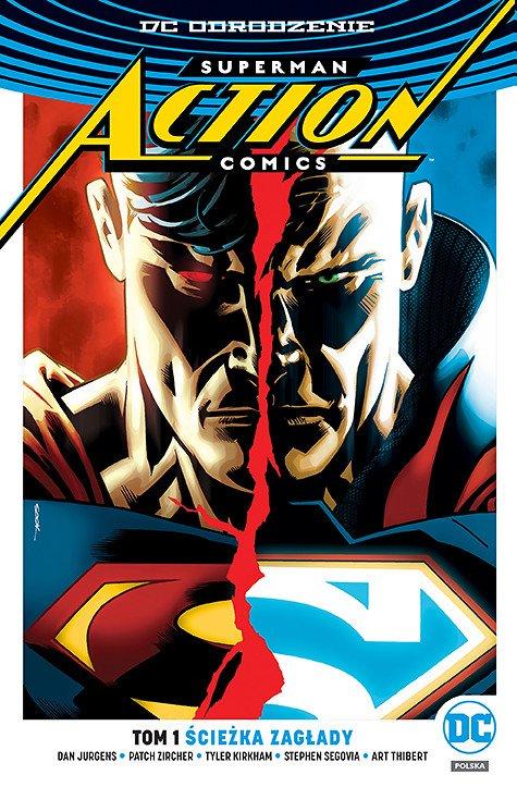 Superman Action Comics – Ścieżka zagłady, tom 1 - okładka