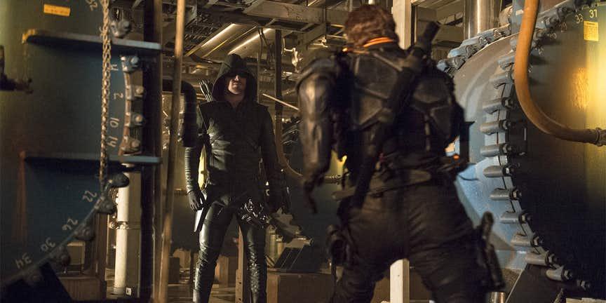 Green Arrow vs. Deathstroke