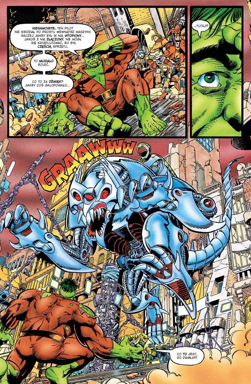 Hulk #01. Koniec i inne opowieści - plansza