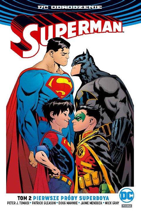 Superman – Pierwsze próby Superboya - okładka