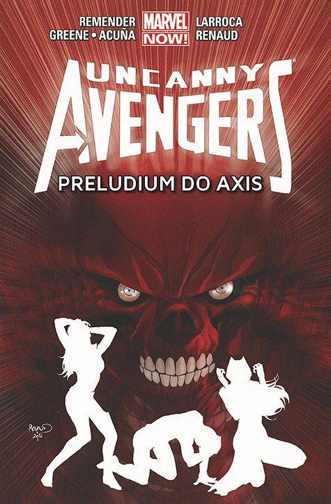Uncanny Avengers - Preludium do Axis - okładka