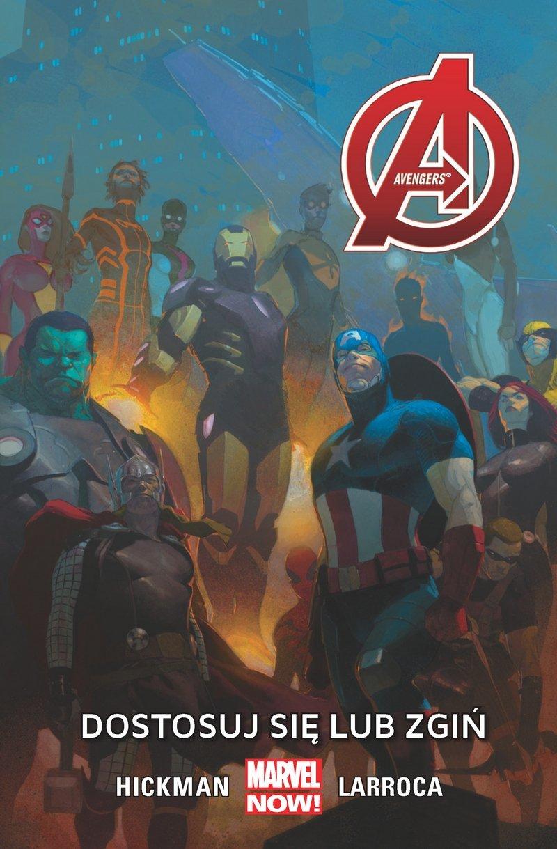 Avengers #05: Dostosuj się lub zgiń