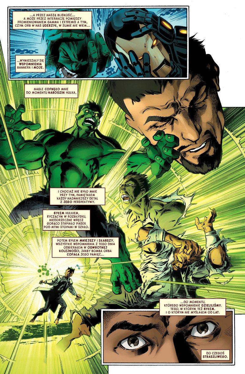Grzech pierworodny. Hulk kontra Iron Man - plansza 1