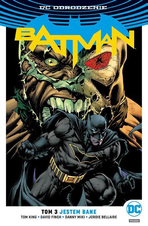 Batman – Jestem Bane, tom 3 - okładka