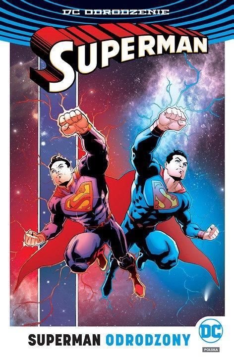 Superman – Odrodzony - okładka