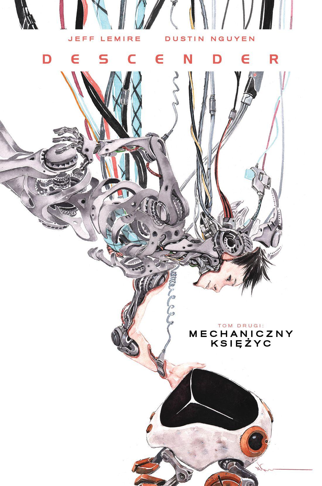 Descender 02. Mechaniczny księżyc - okładka