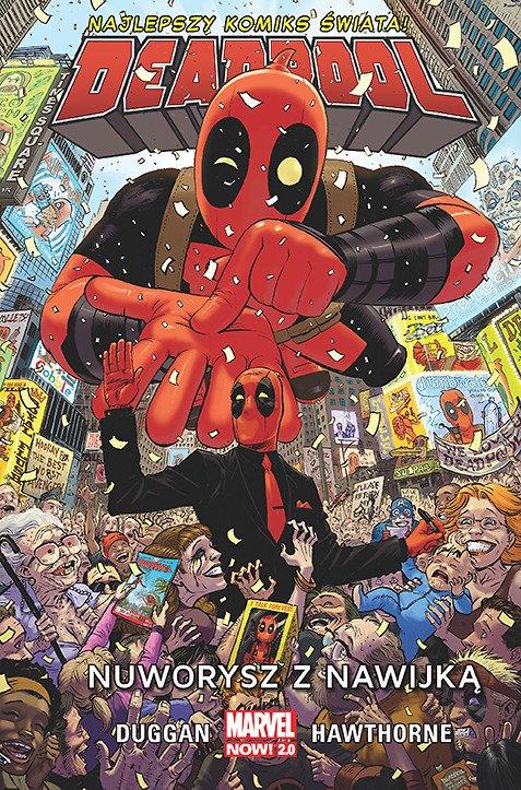 Deadpool – Nuworysz z nawijką, tom 1 - okładka