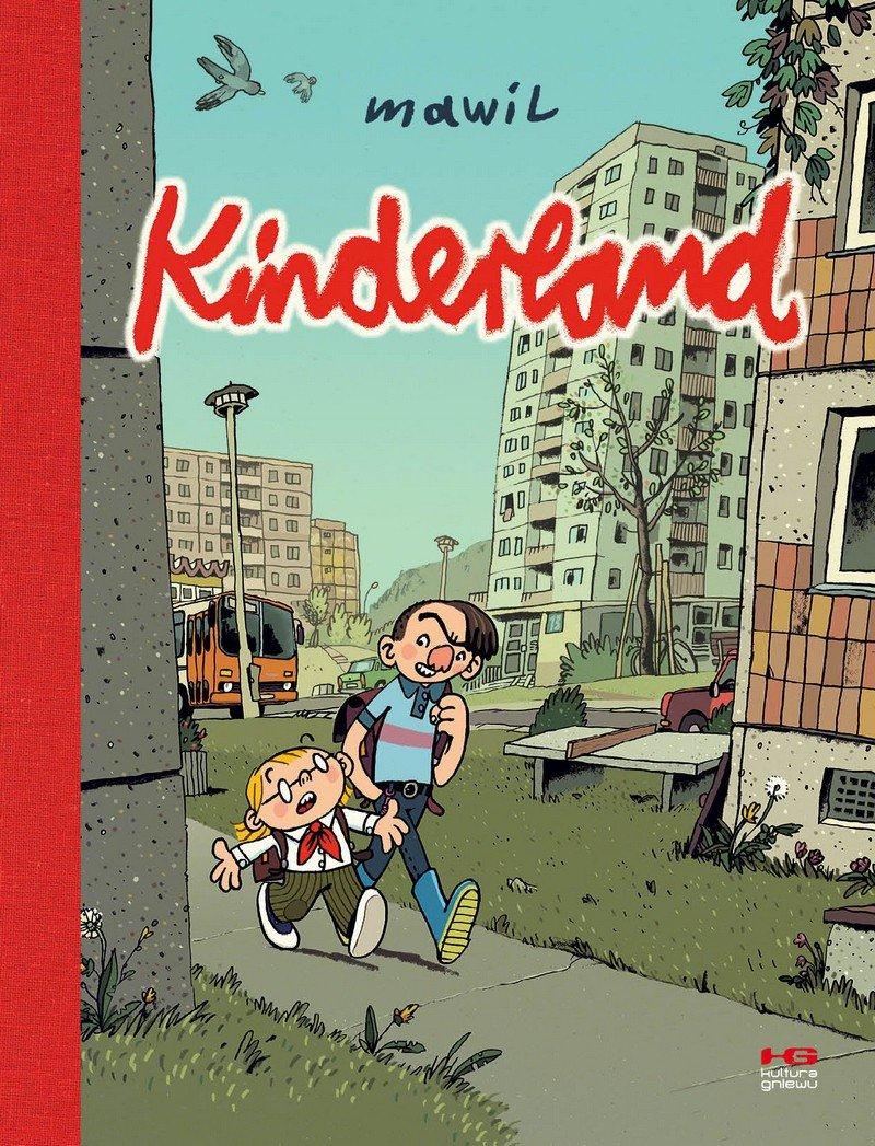 Kinderland - okładka