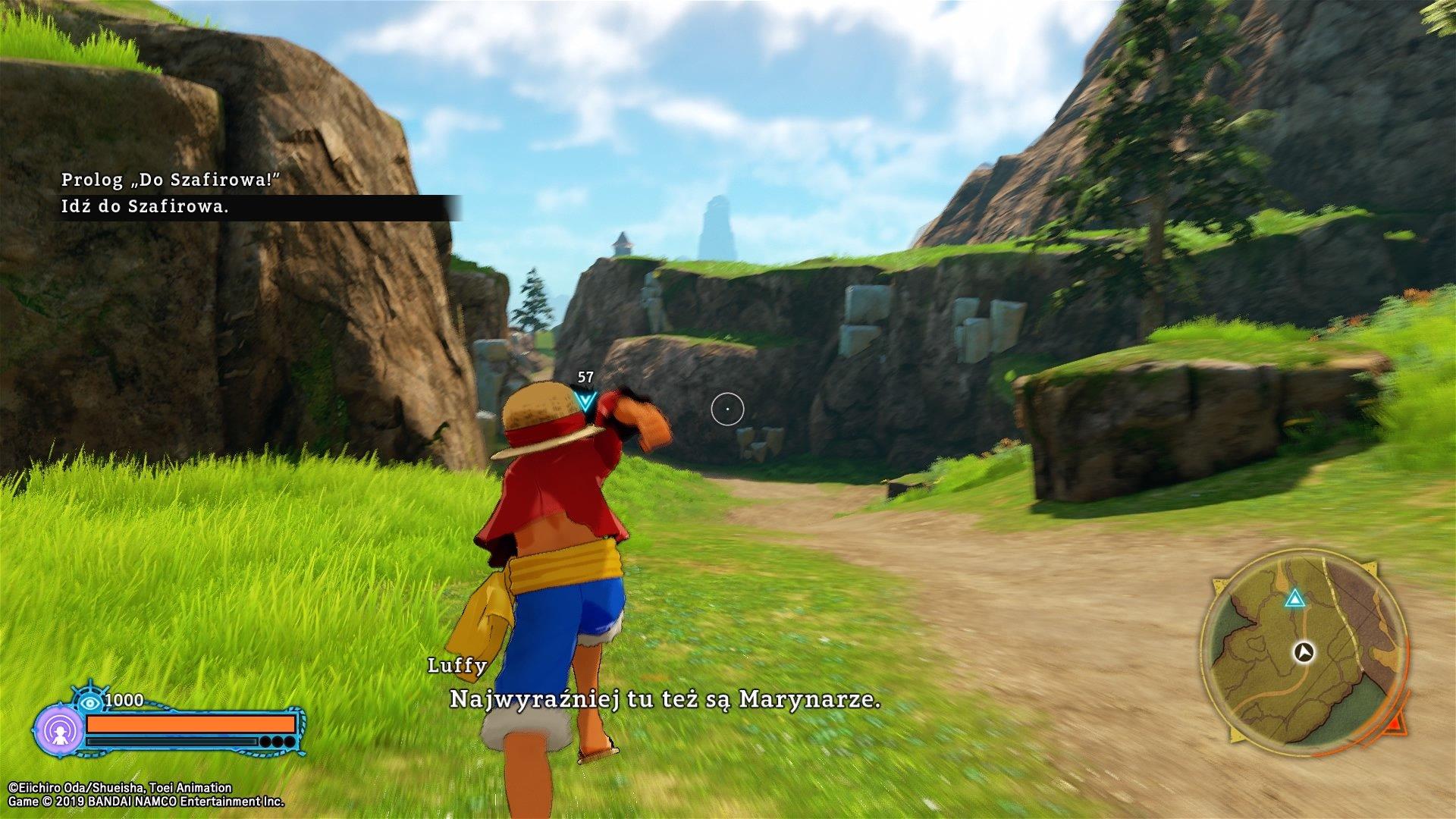 One Piece: World Seeker - screeny z gry