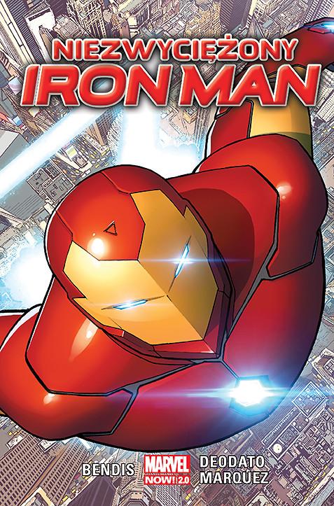 Niezwyciężony Iron Man - okładka