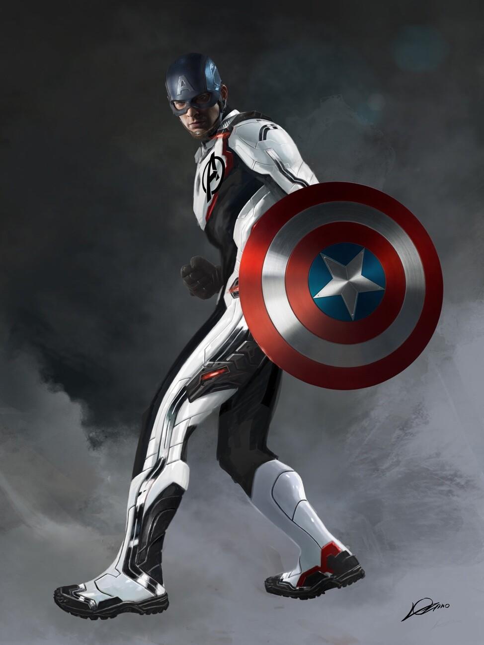 Avengers: Koniec gry - bohaterowie w białych strojach