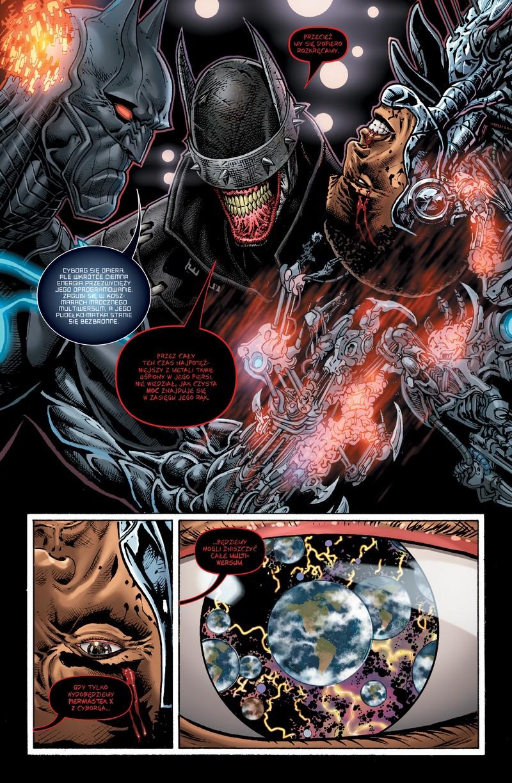 Batman Metal: Mroczny Wszechświat. Tom 3 - plansze