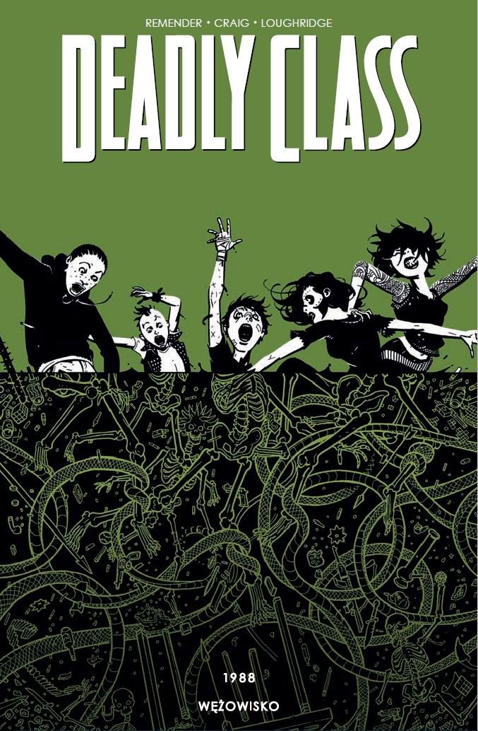 Deadly Class. Tom 3 - okładka