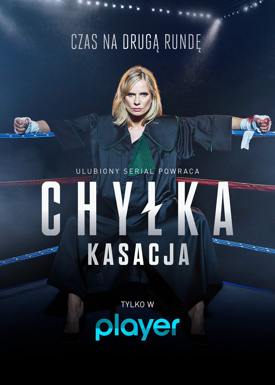 Chyłka Kasacja na TVN Player - plakat