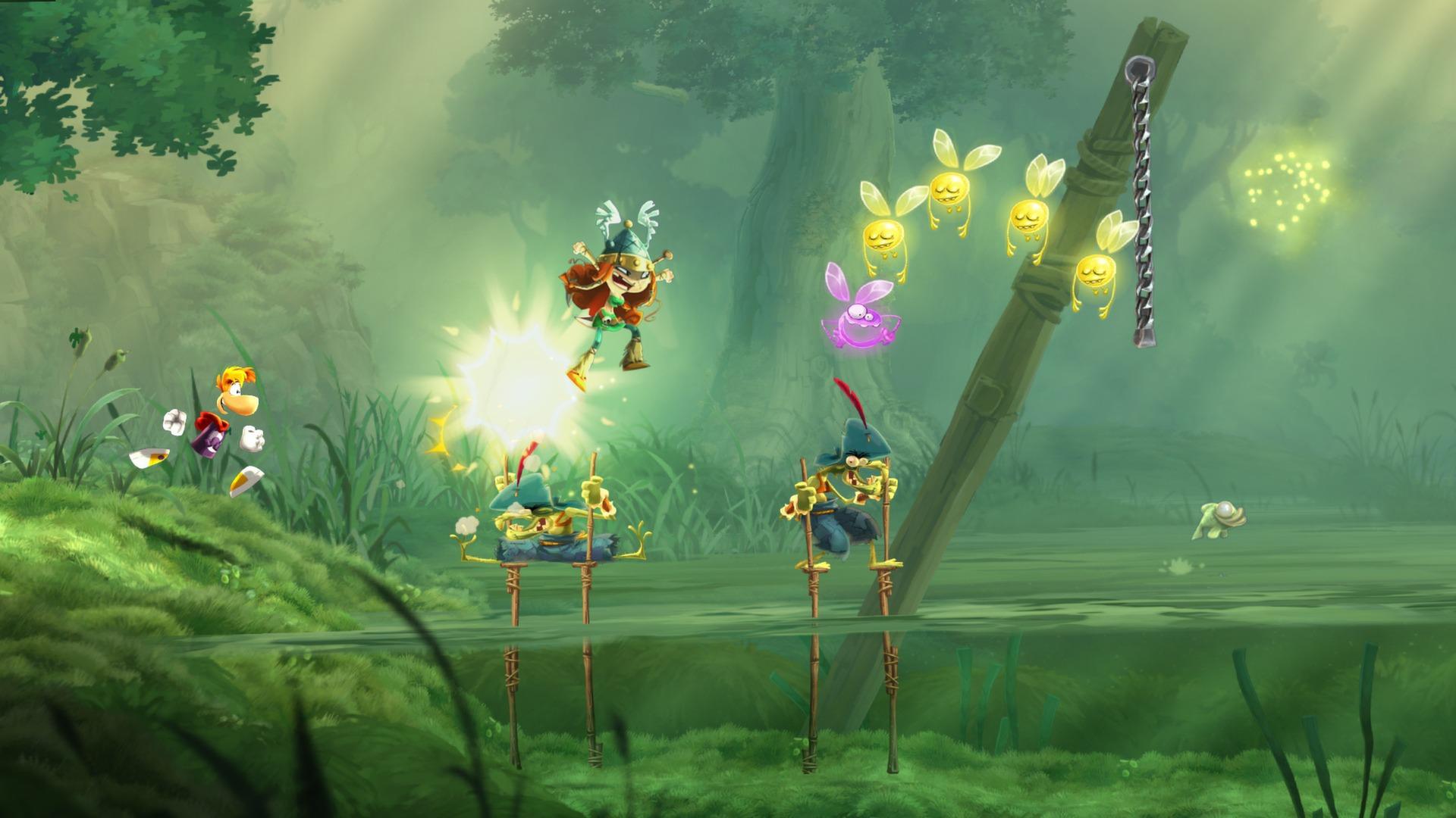 Te gry znajdziecie w Uplay Plus: Rayman Legends