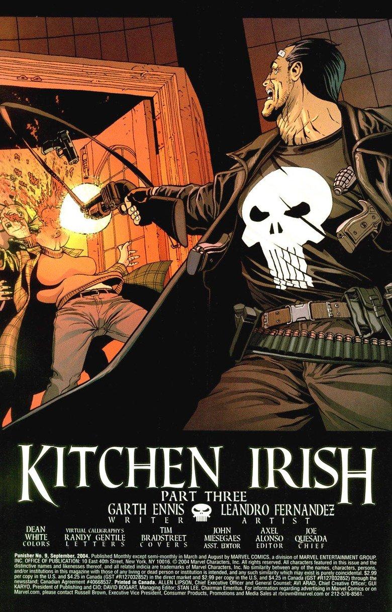 Punisher MAX - Kitchen Irish