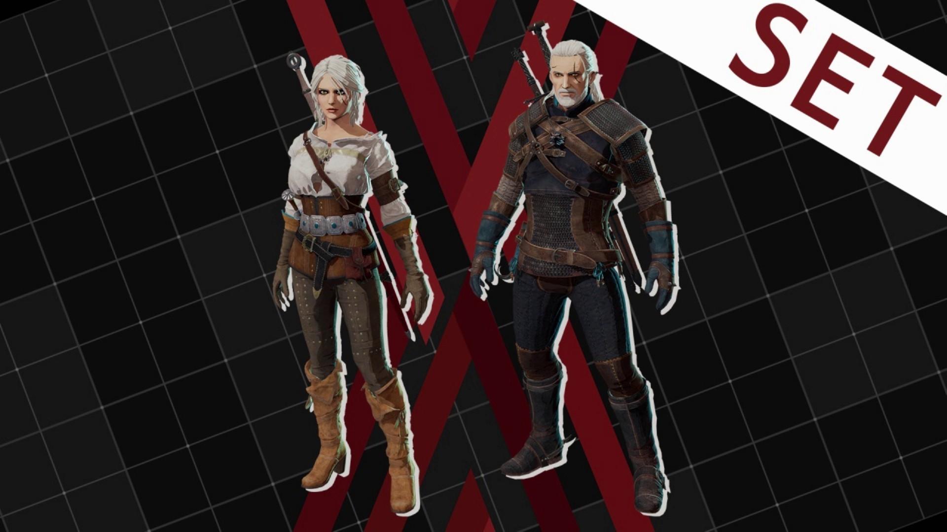Ciri i Geralt - Deamon X Machina DLC