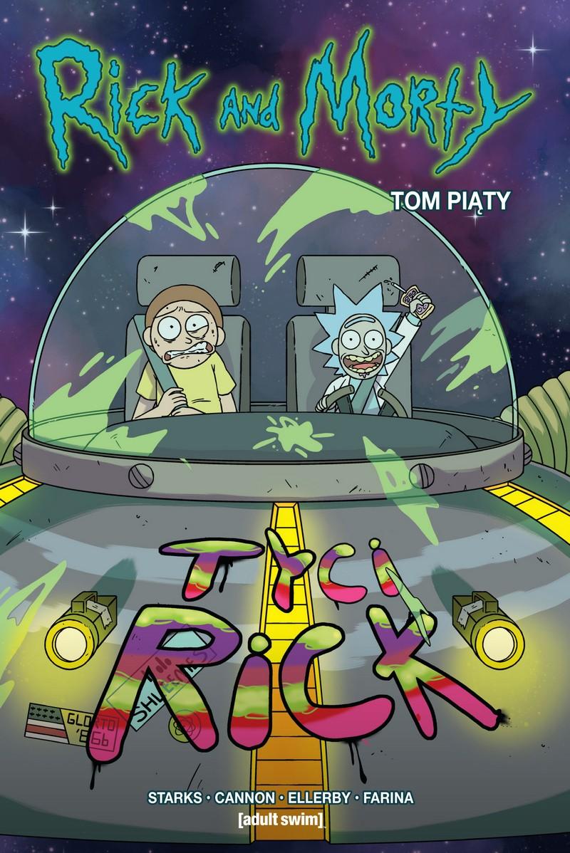 Rick i Morty Tom 5 - okładka