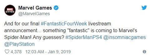 Fantastyczna Czwórka w grze Marvel's Spider-Man