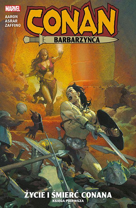 Życie i śmierć Conana, księga 1 - okładka