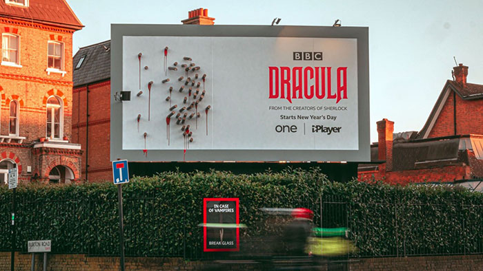 Drakula - promocja serialu