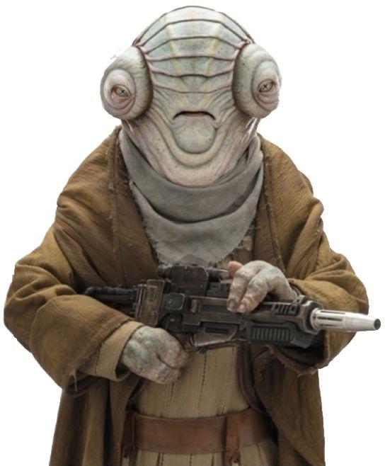 Ed Sheeran jako Engi Golba - Star Wars 9
