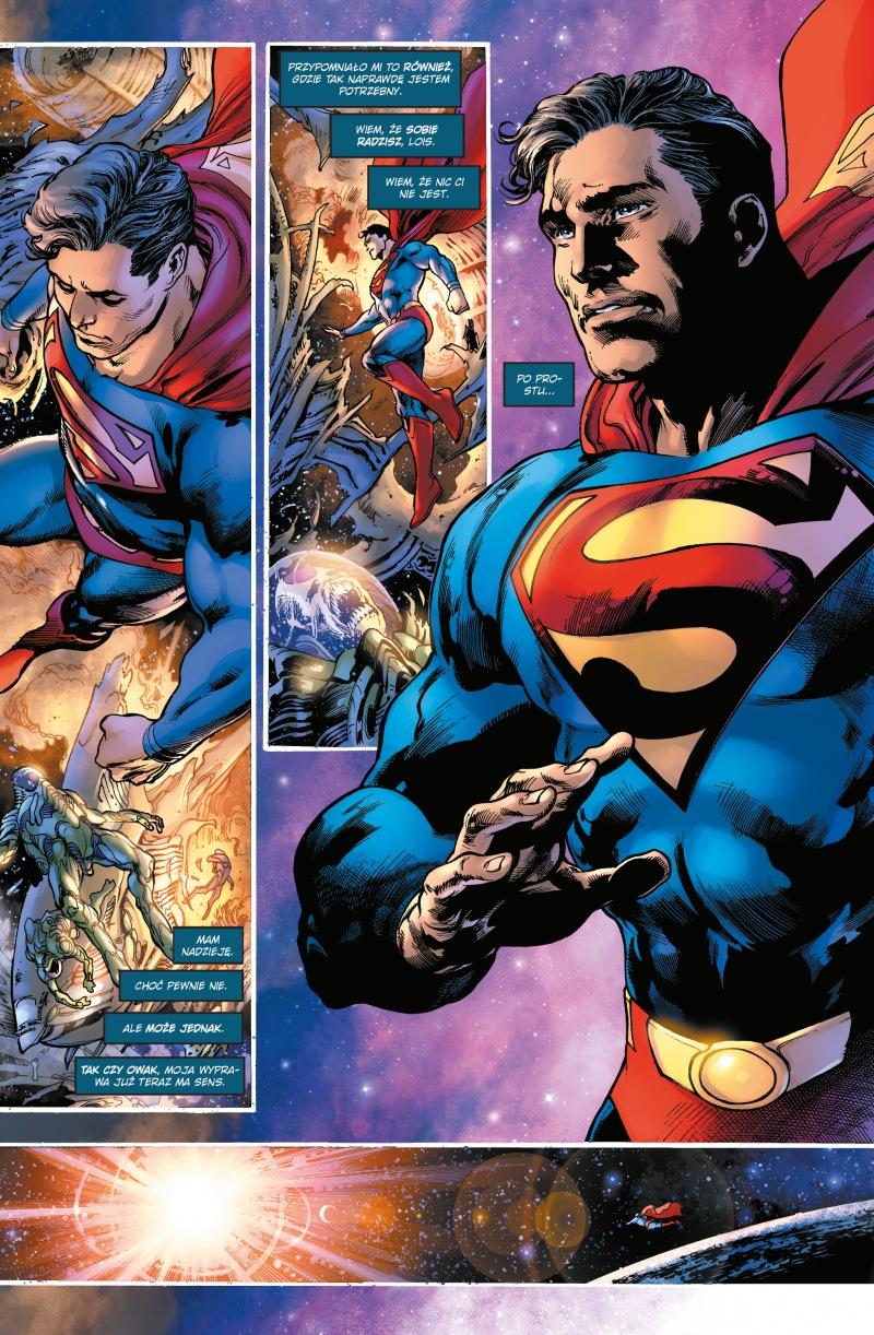 Superman 1. Saga jedności – Ziemia widmo, tom 1 - plansze