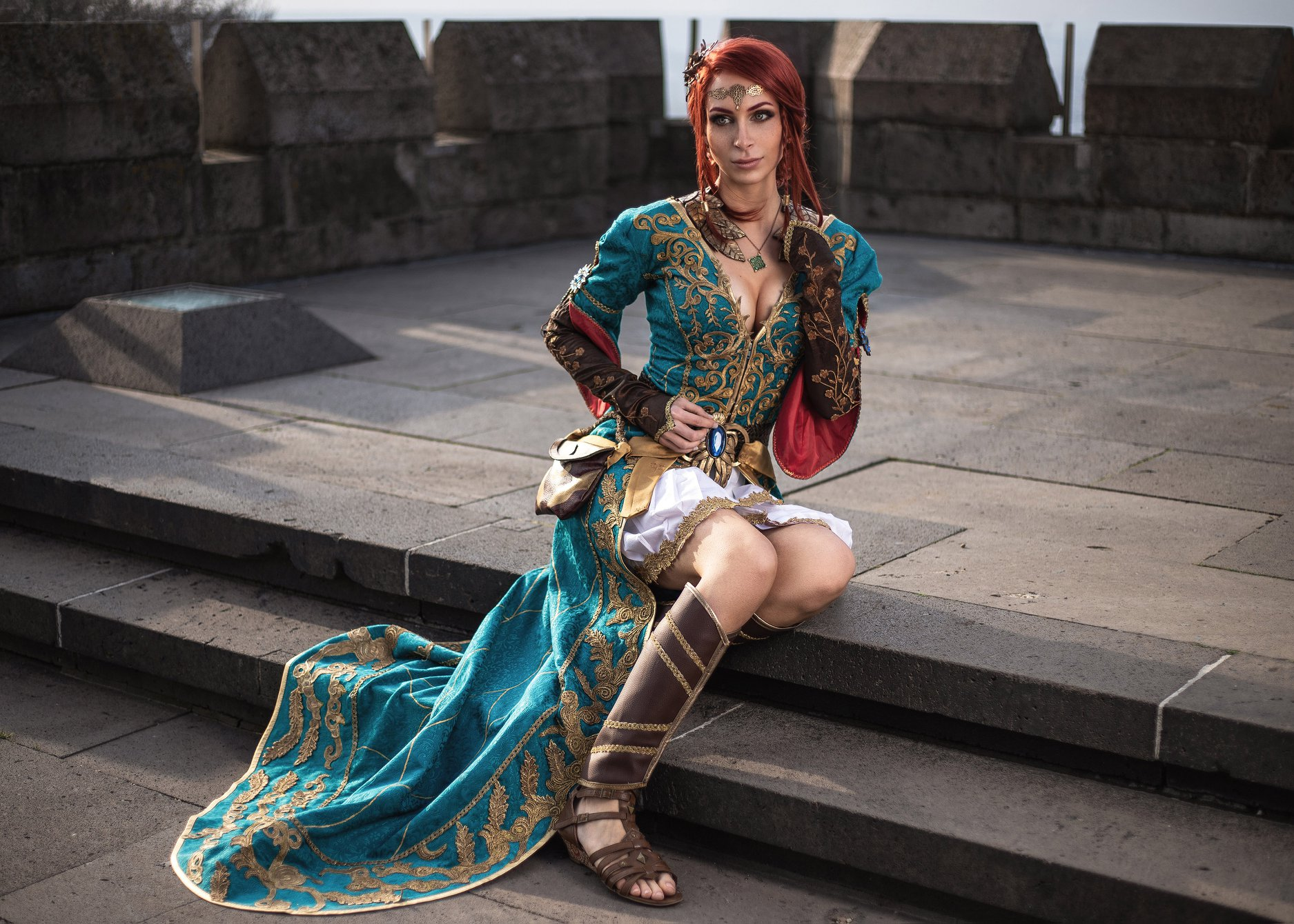 Lena-Lara jako Triss Merigold