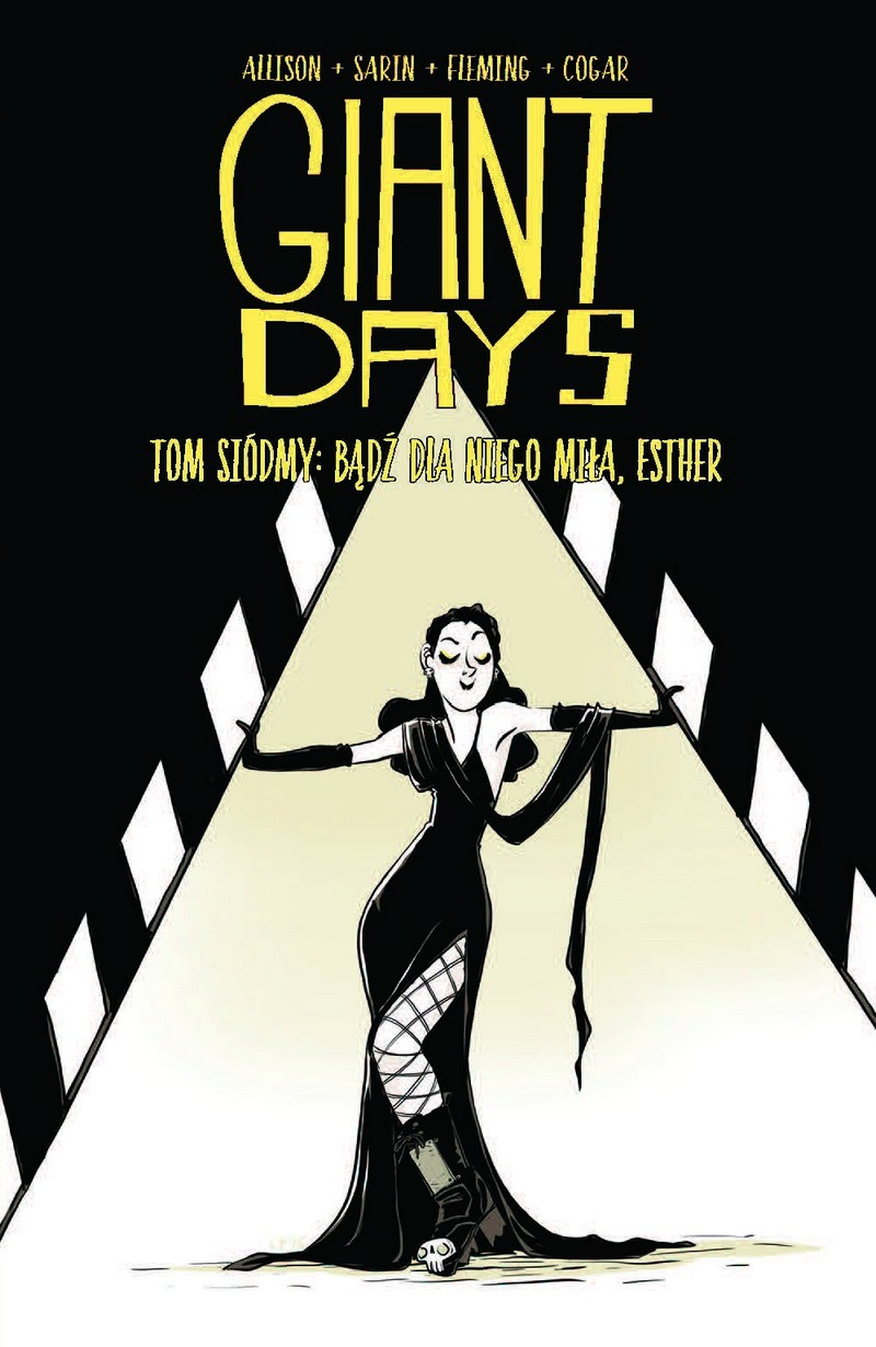 Giant Days #07: Bądź dla niego miła, Esther - okładka