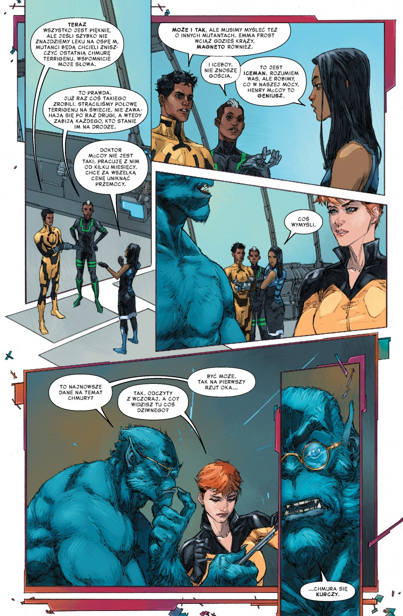 Inhumans kontra X-Men - plansze