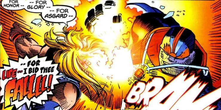 Thor #25 - plansze