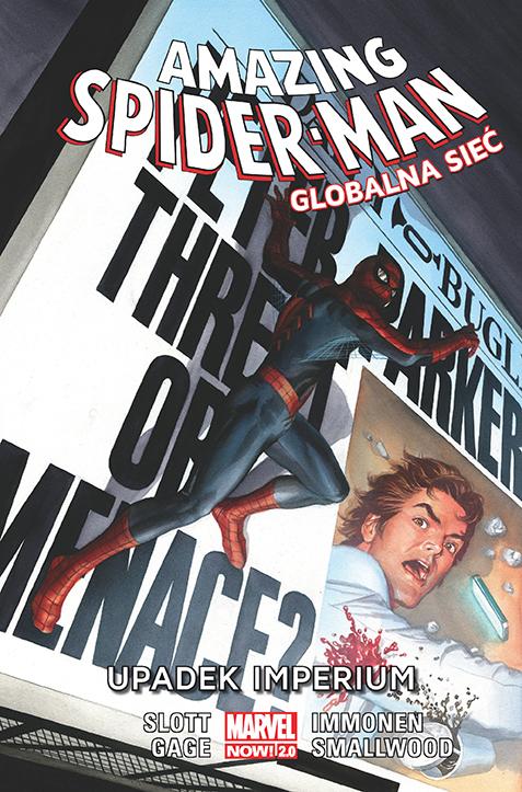Amazing Spider Man – Globalna sieć. Upadek imperium, tom 7 okładka